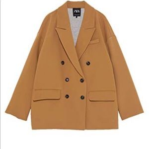 New with tags! Zara button blazer coat $129